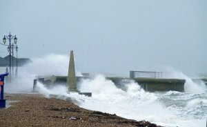 Picture of storm on Southsea seafront