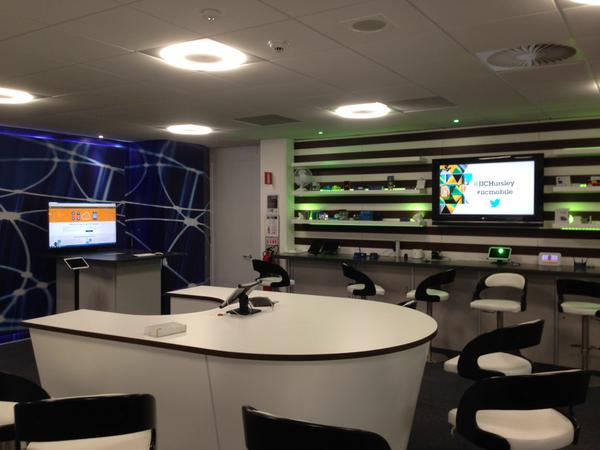 IoT lab at IBM Hursley