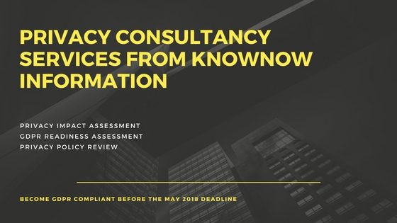Privacy Consultancy from KnowNow Information