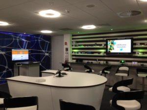 IoT lab at IBM Hursley