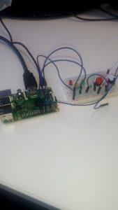 Raspberry Pi with CamJam kit