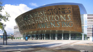 Picture of the Cardiff Bay Millennium Centre